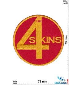Skinhead 4 Skins - red gold