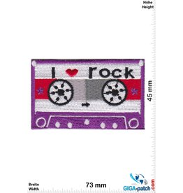 DJ Mix Tape - i love rock - purple