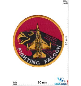 Airforce Fighting Falcon - USA Army - red - HQ
