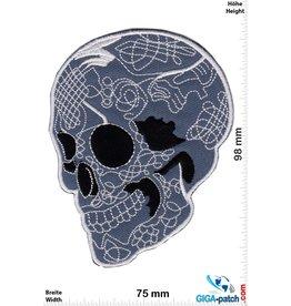 Tattoo - Skull - gray