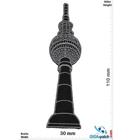 Berlin Television tower - Berlin - black