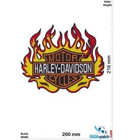 Harley Davidson Harley Davidson - Motor Cycles - Fire  - 26 cm