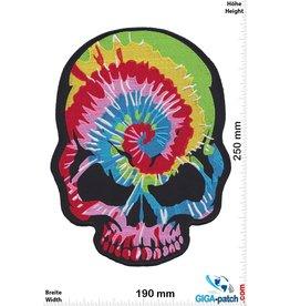 Skull Totenkopf - Rainbow - 25 cm