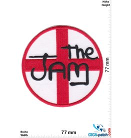 The Jam The Jam - red white - punk rock/mod revival band