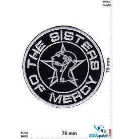 The Sisters of Mercy The Sisters of Mercy - Rockband -  silver round