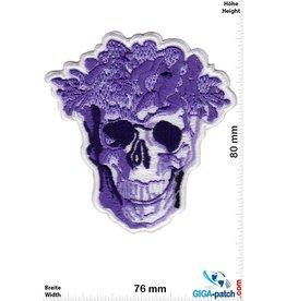 Skull Totenkopf - lila