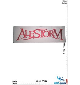 Alestrom Alestrom - red white  - 33 cm