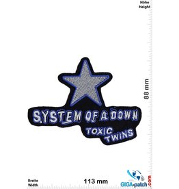 System of a Down System of a Down- blue silver