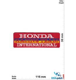 Honda Honda Racing Team International - red
