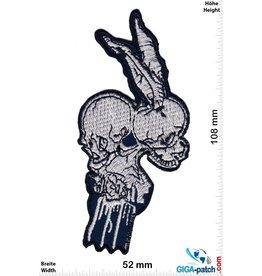 Skull 2 Head Totenkopf