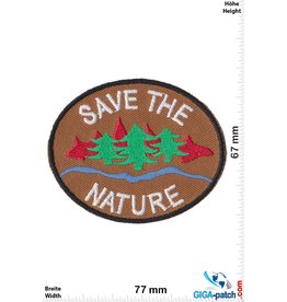 Natur Save the Nature - brown