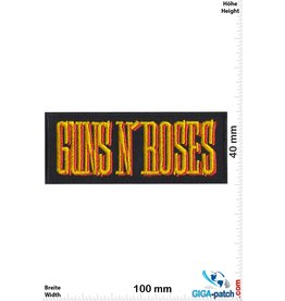 Guns n Roses Guns n' Roses - gold red