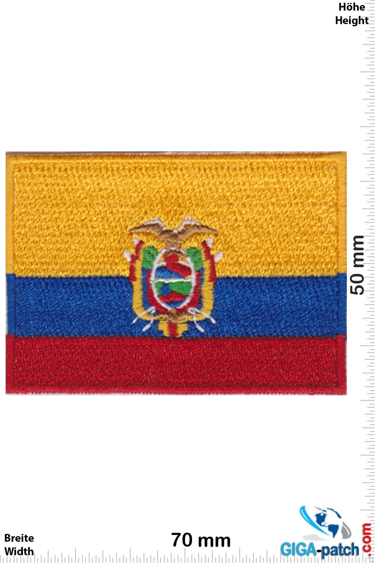 Ecuador - Eagle - Flag