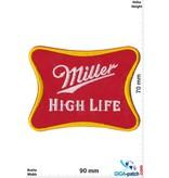 Miller Miller - High Life - red gold - Beer