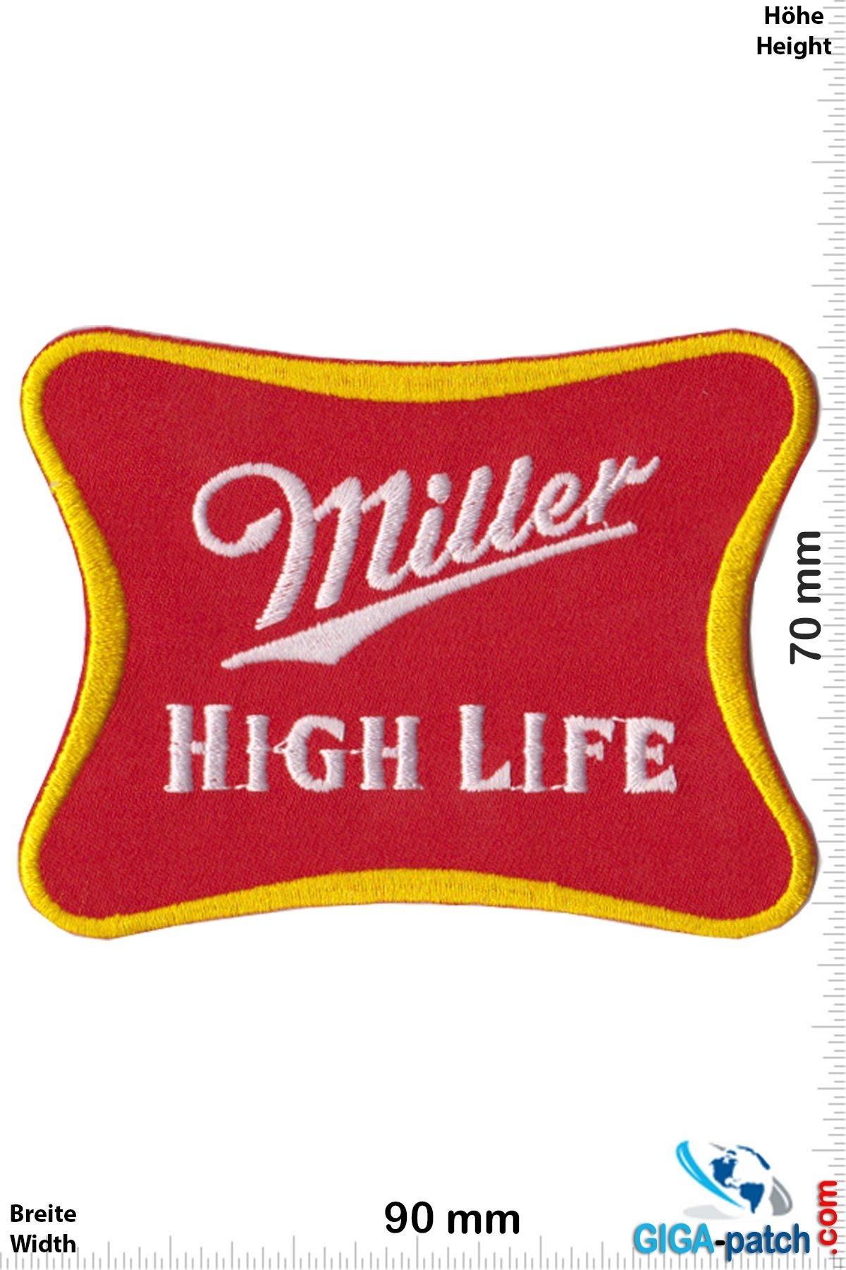 Miller Miller - High Life - red gold - Bier