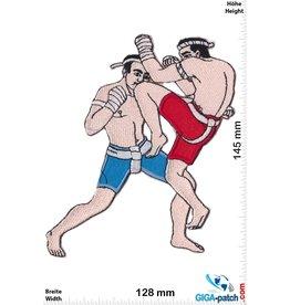 Boxen Muay Thai Boxer - Knee Kick - 14 cm