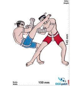 Boxen Muay Thai Boxer - Foot Kick - 15 cm