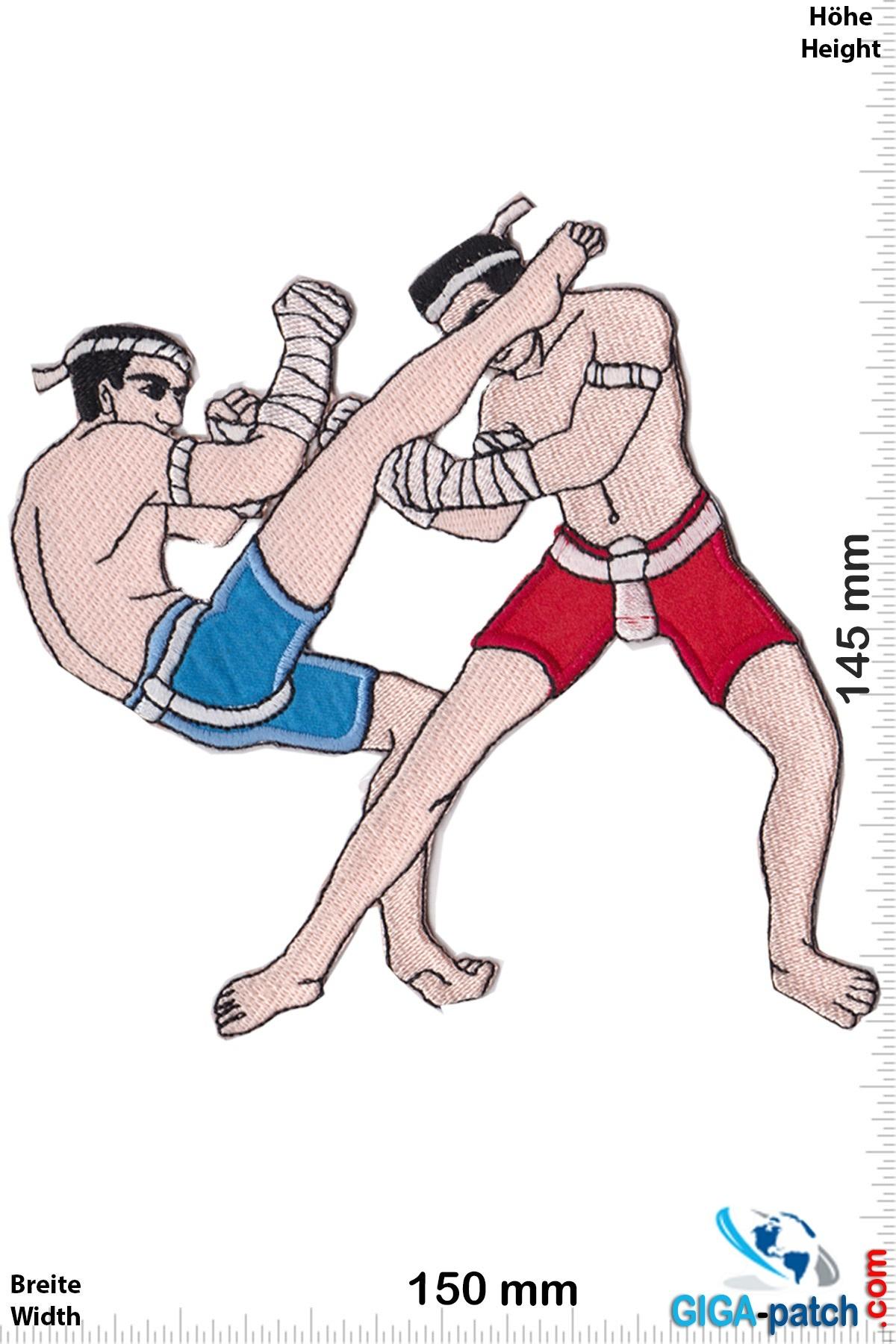 Boxen Muay Thai Boxer - Foot Kick - 14 cm