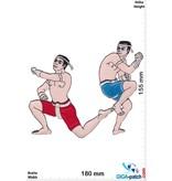 Boxen Muay Thai Boxer - Spirit Dance - 18 cm