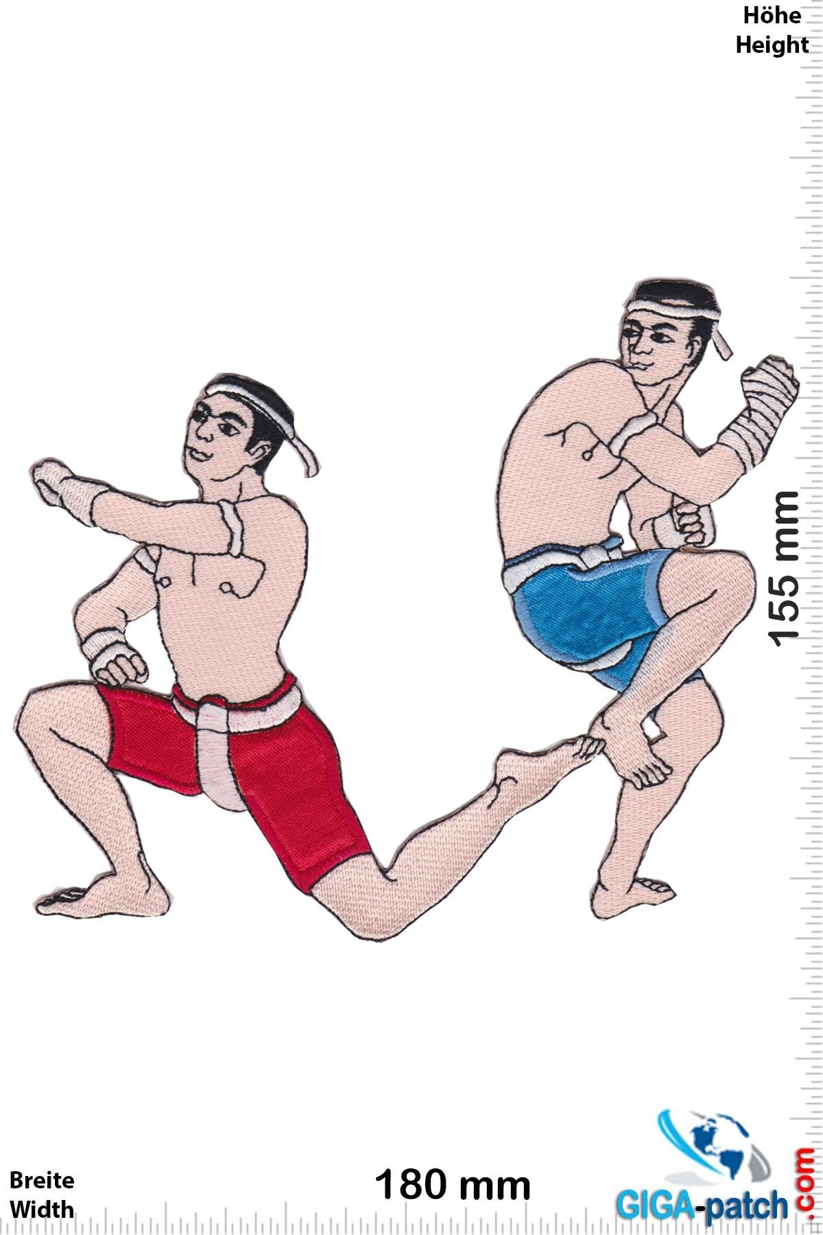 Boxen Muay Thai Boxer - Spirit Dance - 14 cm
