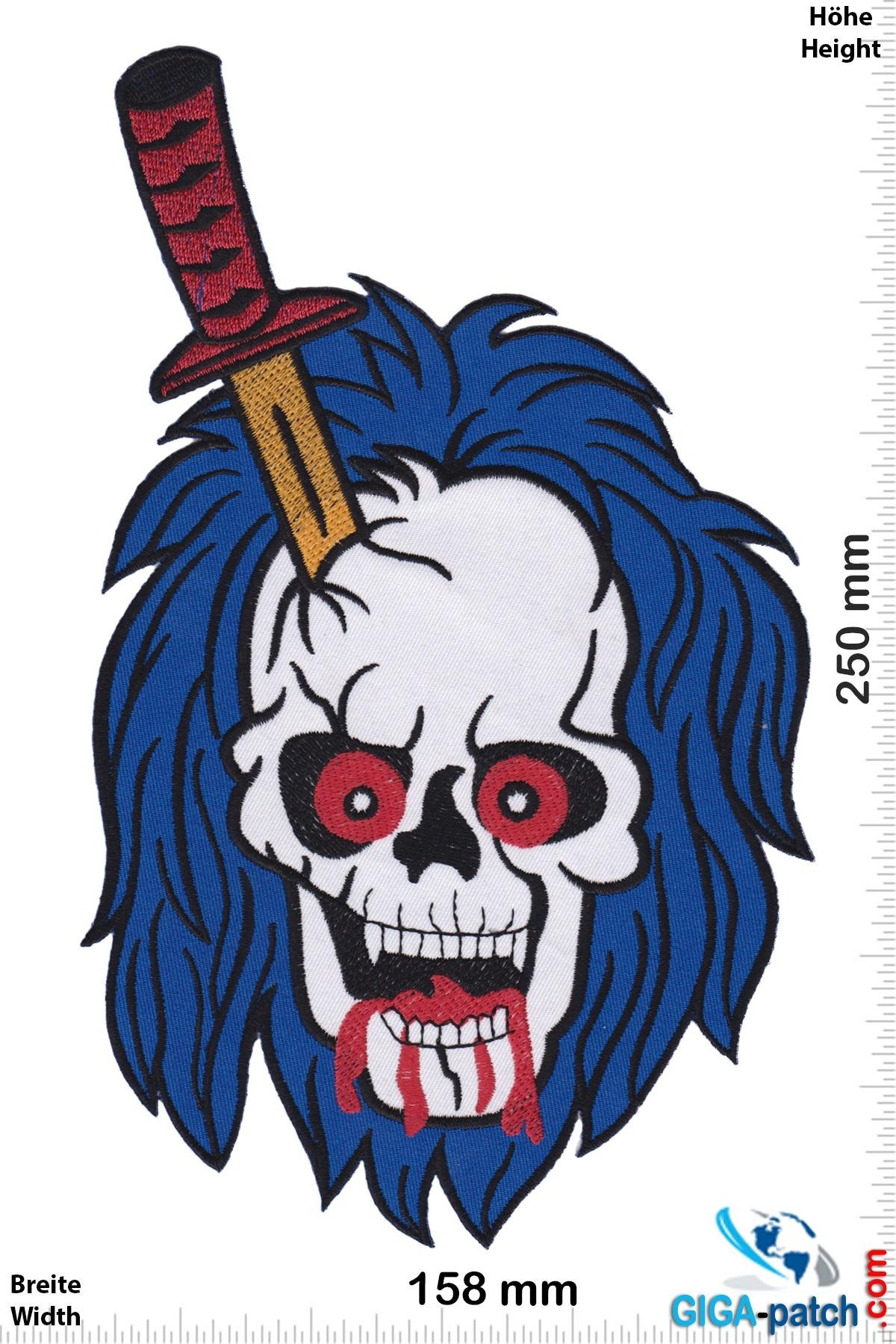 Totenkopf Skull - Sword - 25 cm