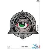 Freimaurer - Free Masonry - Wisdom Strenght & Beauty - 28 cm