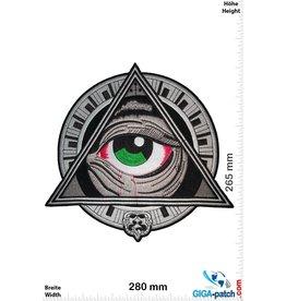 Free Masonry - Wisdom Strenght & Beauty  - 28 cm