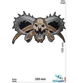 Totenkopf Totenkopf - Devil - 32 cm