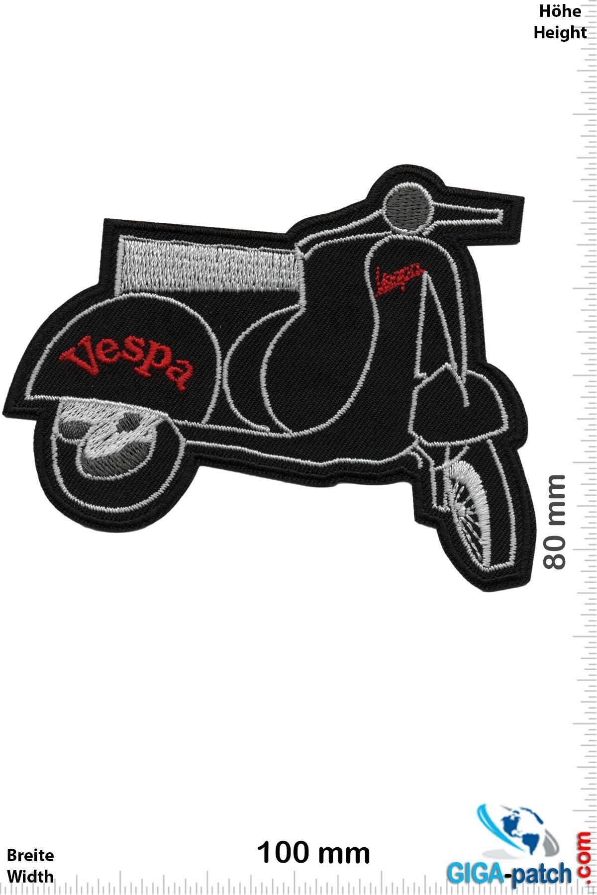 Vespa Vespa - silver black - Scooter