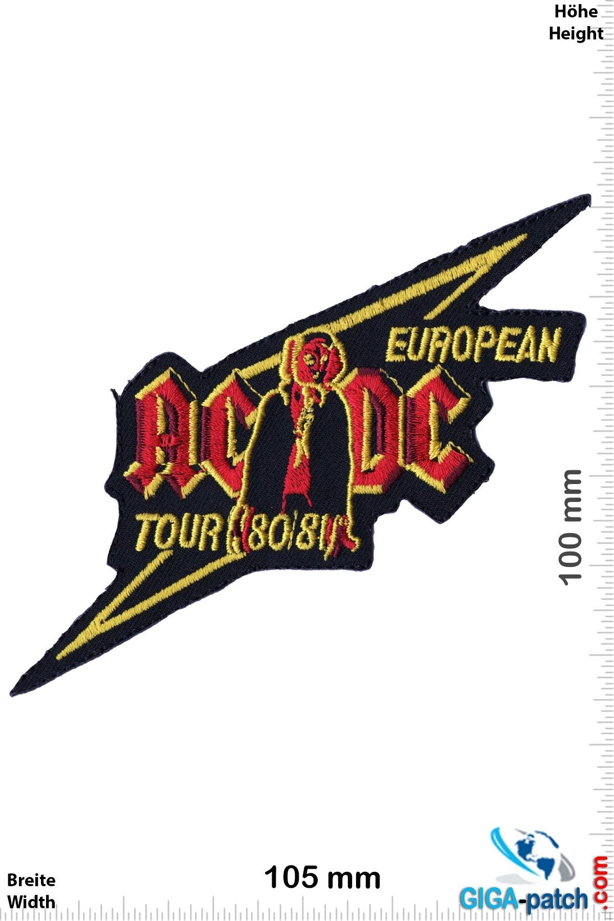 AC DC ACDC  - European Tour  80/81 - AC DC