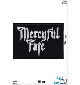 Mercyful Fate Mercyful Fate - silver black -Heavy-Metal-Band