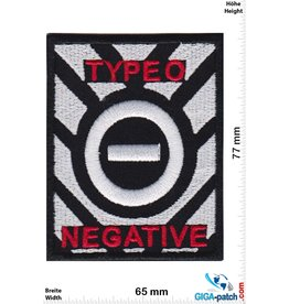 Type O Negative Type O Negative - silver red - Rock- Metalband