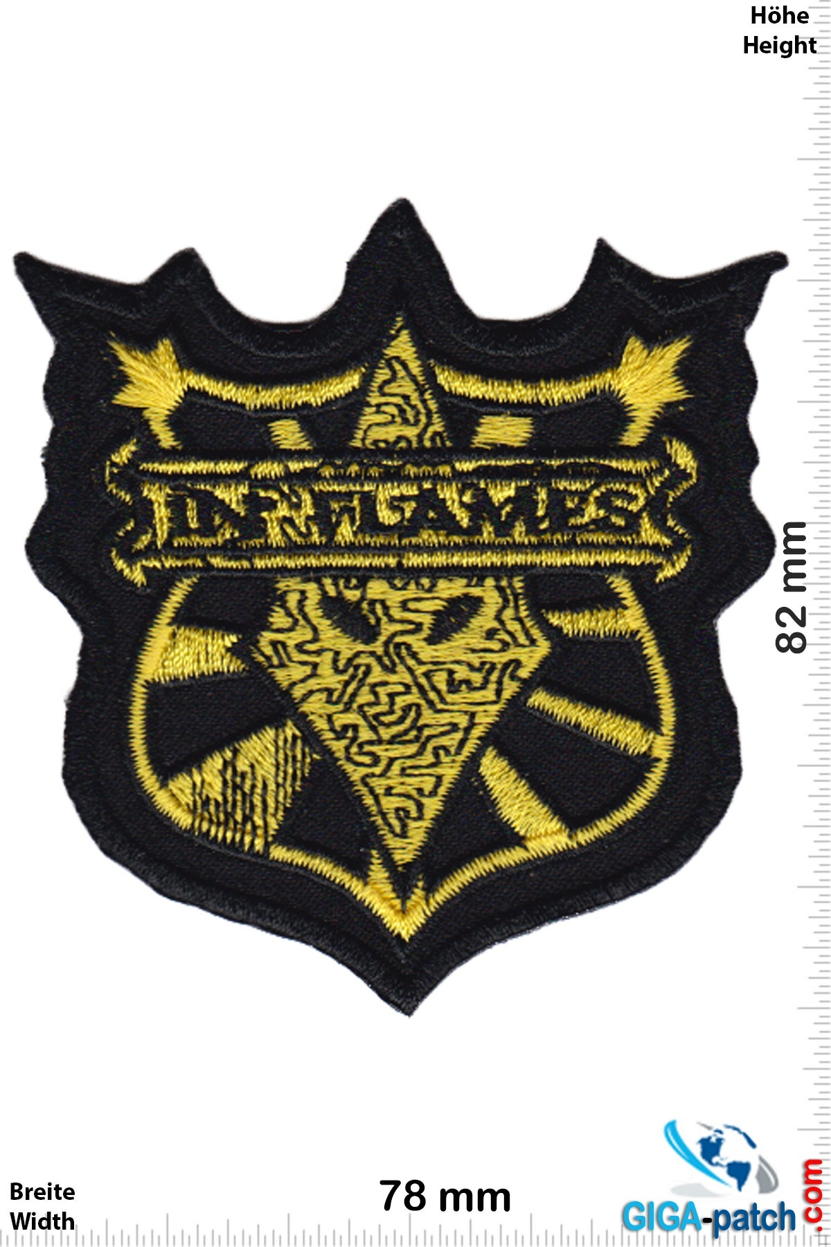 In Flames In Flames - coat of arms - Melodic-Death-Metal-Band