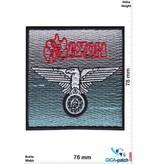 Saxon Saxon - Wheels of Steel - 747- Heavy-Metal-Band