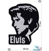Elvis Elvis - Head - silver black