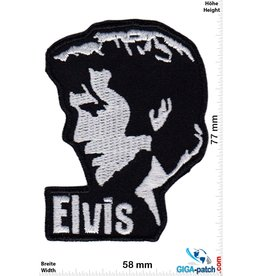 Elvis Elvis - Head - silver black
