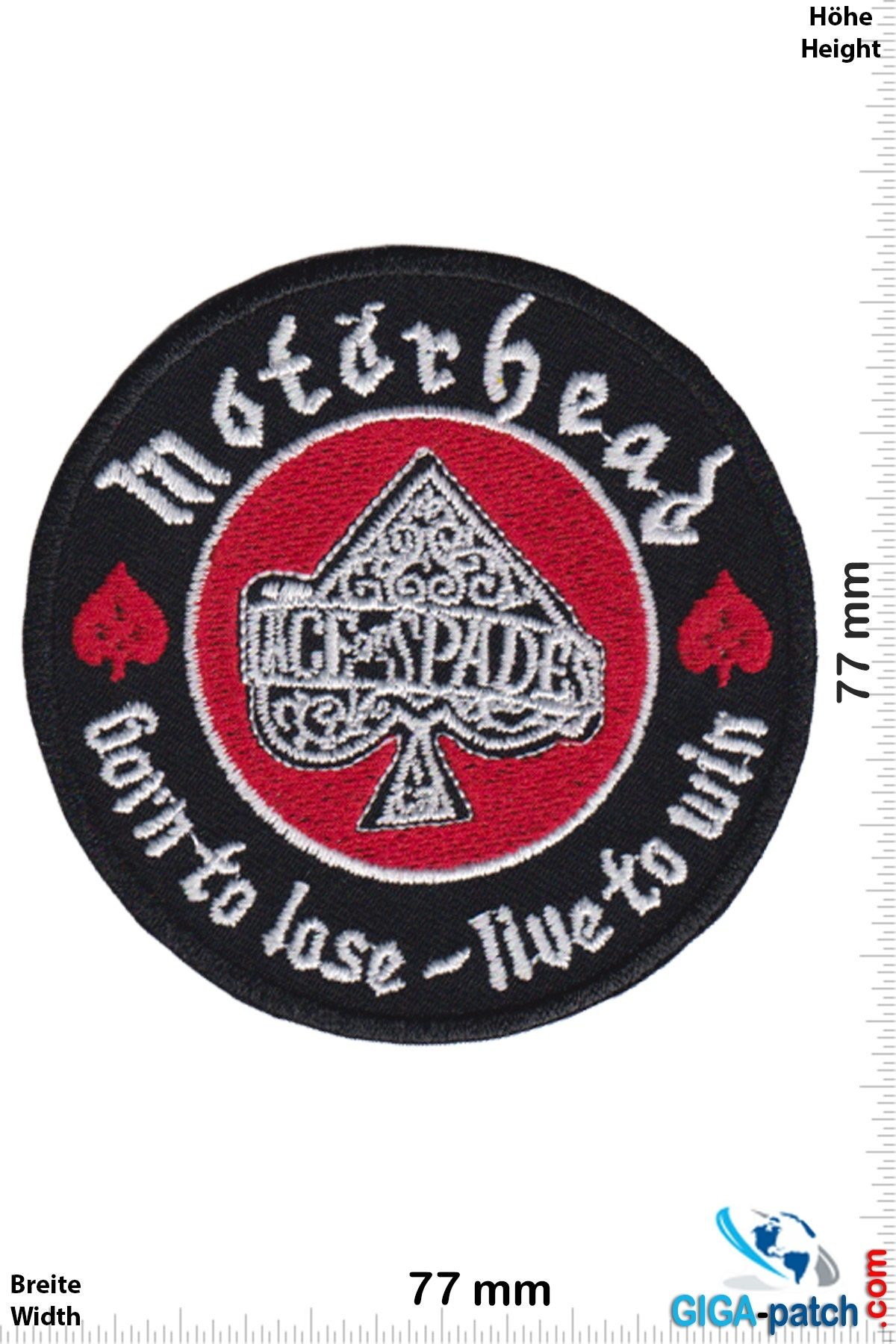 Motörhead Motörhead - born to lose - live to win