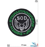 SOD S.O.D. - Stormtroopers of Death - green silver