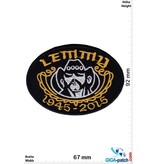 Motörhead Motörhead - Lemmy  - silver gold - 1945-2015