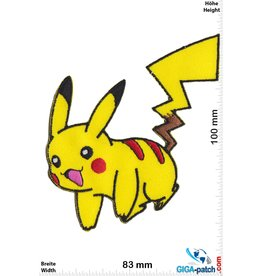Pokemon Pikachu - Pokémon - Happy - Pokemon