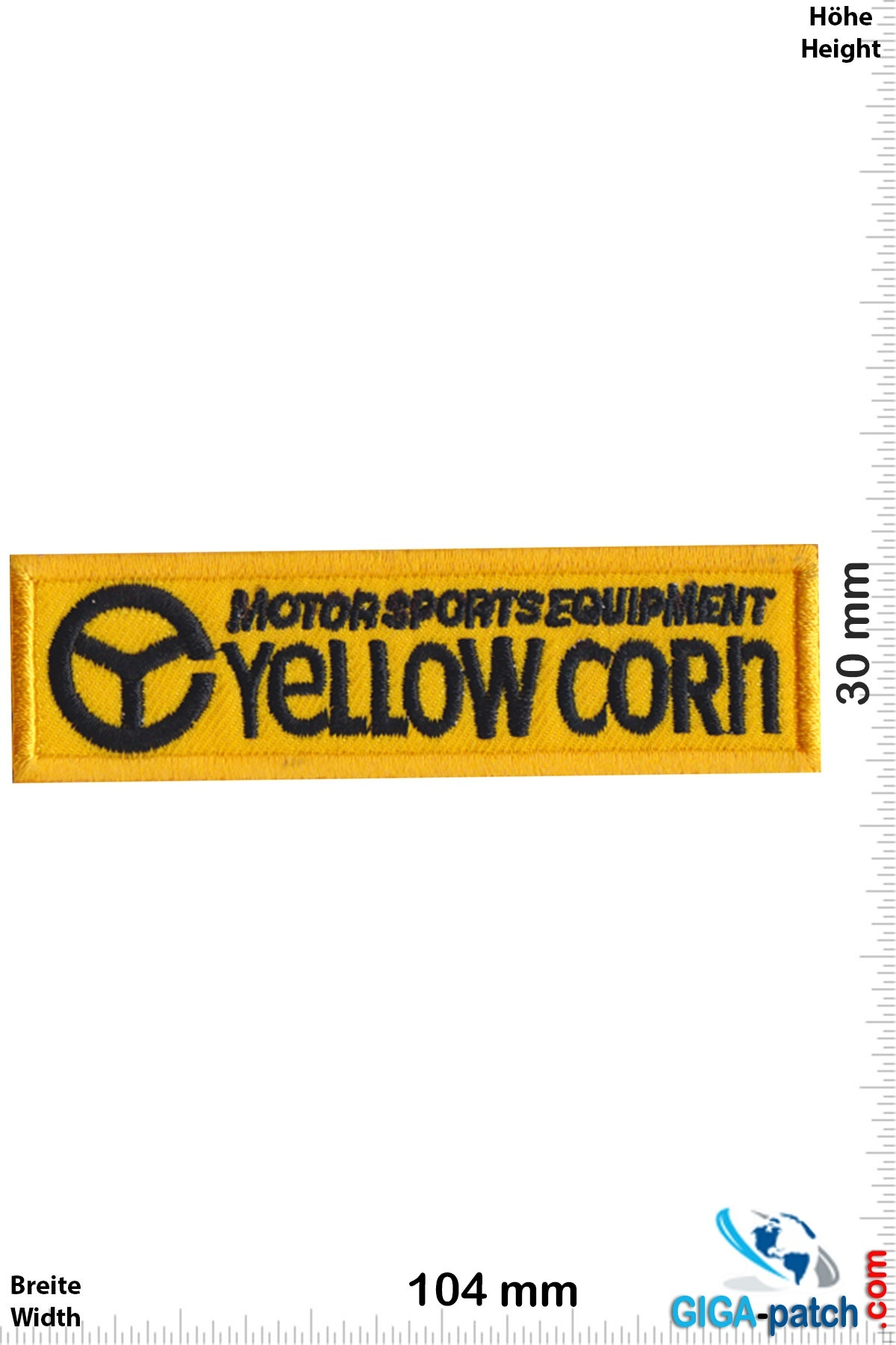 Yellow Corn - Motorsport Equipment
