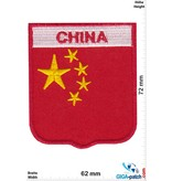 China - coat of arms - Flag