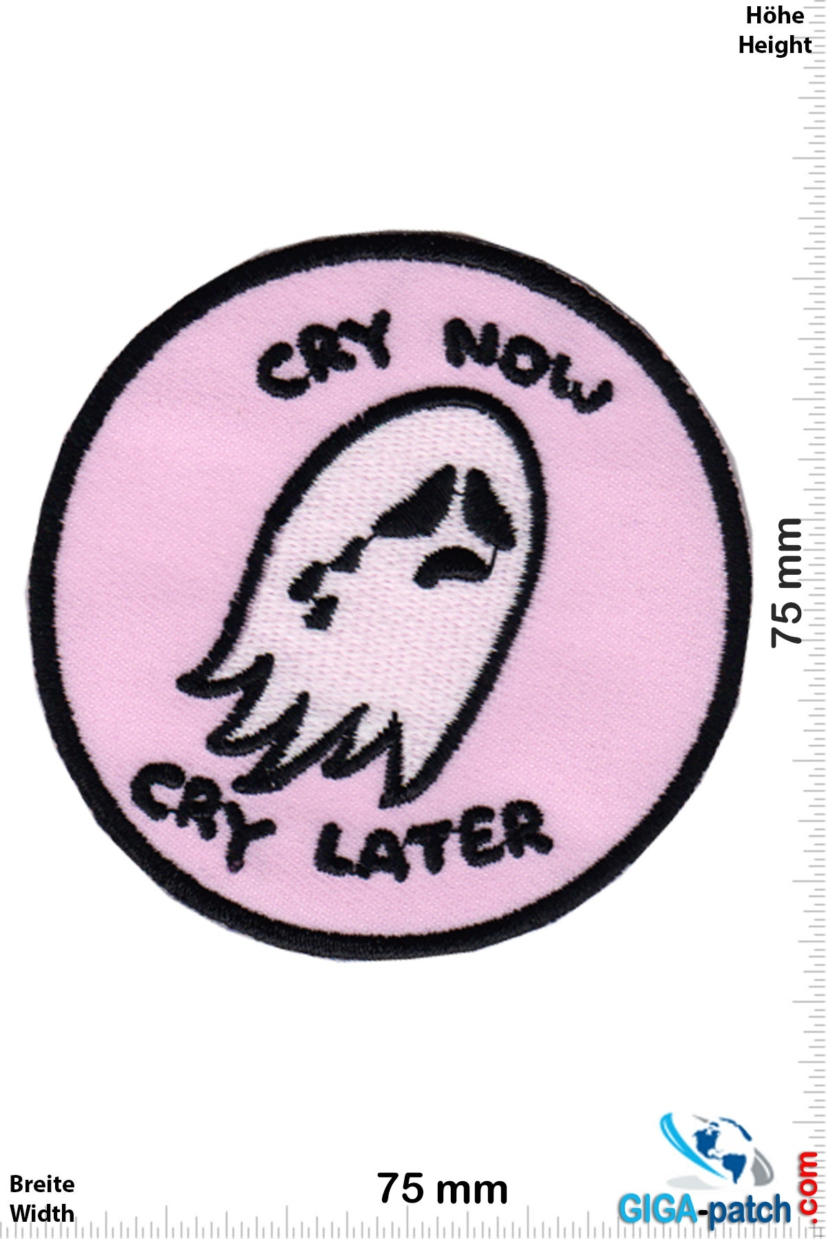 Cry now - Cry Later - Ghost