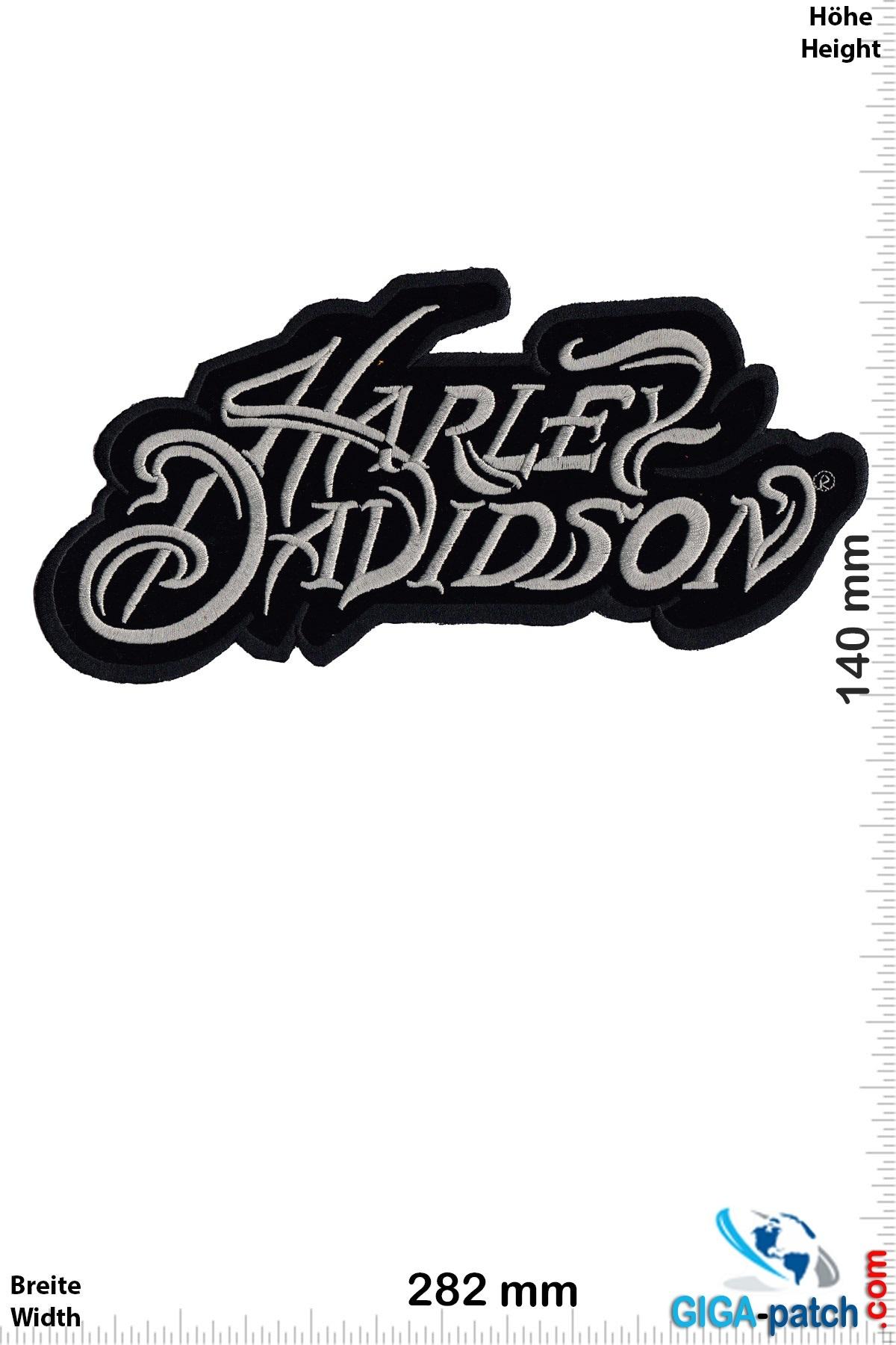 Harley Davidson Harley Davidson - Font  - 28 cm -BIG
