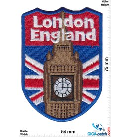 England, England London - Coat of Arms - Big Ben- UK