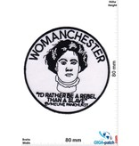 WOMANCHESTER - Emmeline Pankhurst