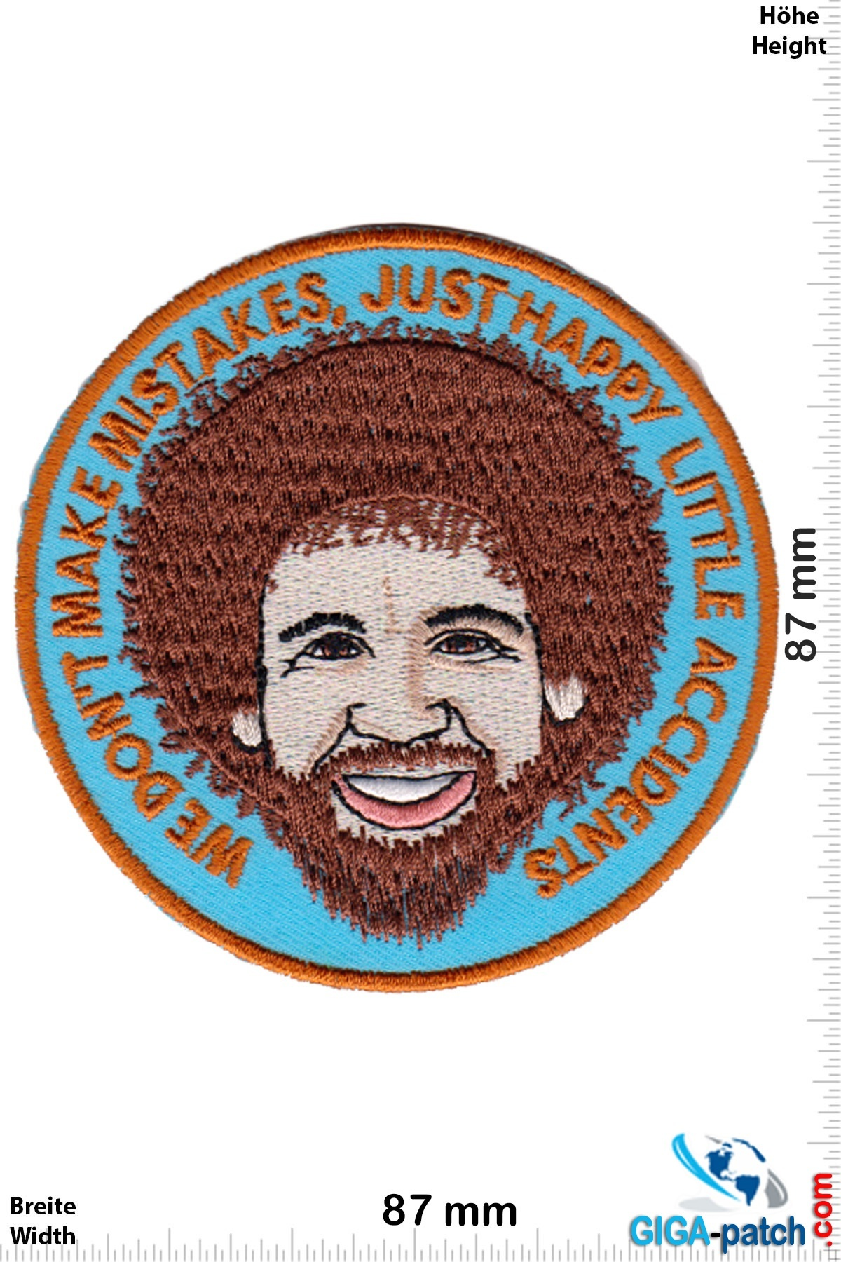 Bob Ross - We don't make mistakes, just happy little accidents