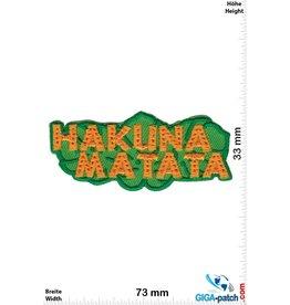 Hakuna Matata - König der Löwen