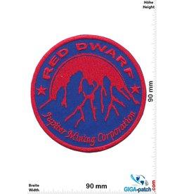 Red Dwarf Jupiter Mining Corporation Logo - big