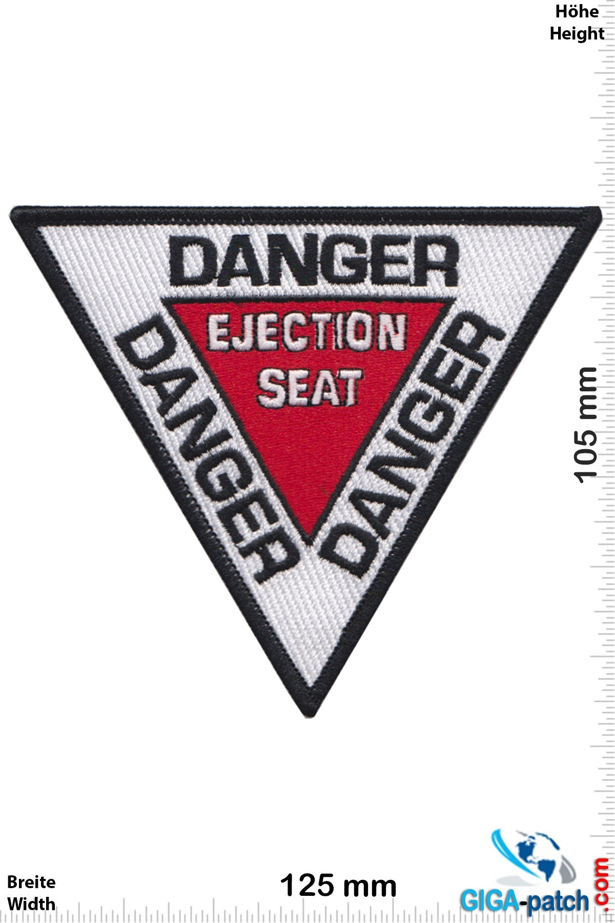 U.S. Navy DANGER Ejection Seat - HQ